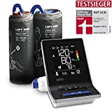 Braun ExactFit 3 Oberarm-Blutdruckmessgerät für Zuhause mit zwei Manschettengrößen, BUA6150WE