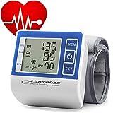 CNCPRINT Handgelenk-Blutdruckmessgerät | vollautomatische Blutdruck- und Pulsmessung | Warnfunktion bei möglichen Herzrhythmusstörungen